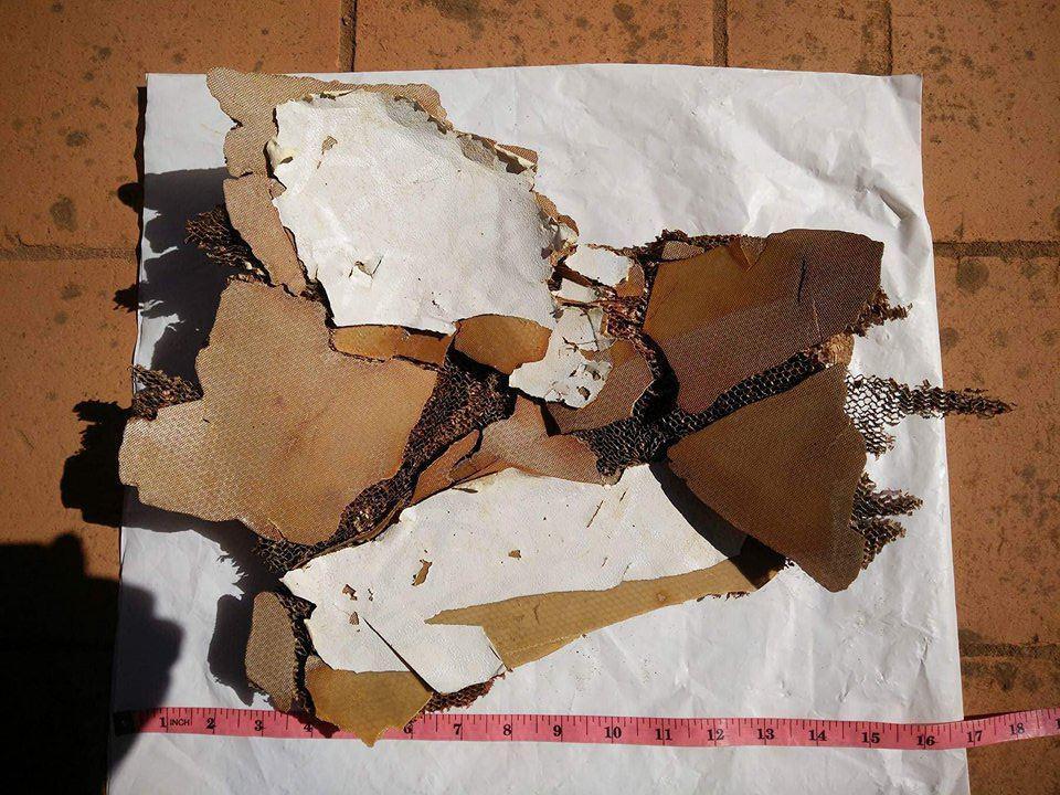 Debris piece 9, Antsiraka Beach, Madagascar