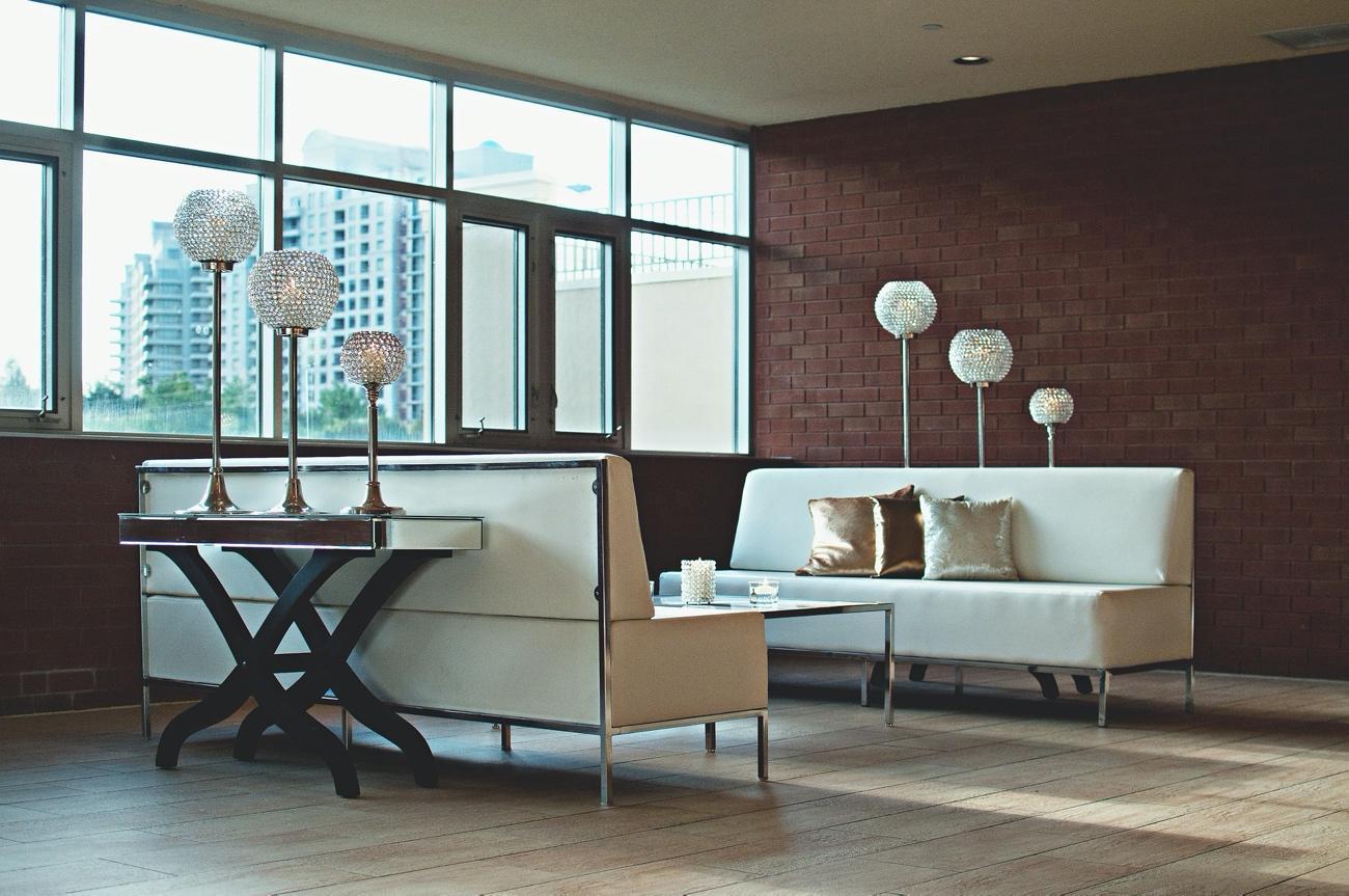 Sillones de hotel para lobby moderno
