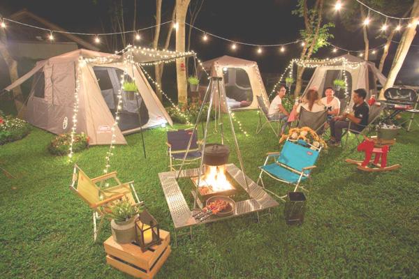 5. Glamorous Camping