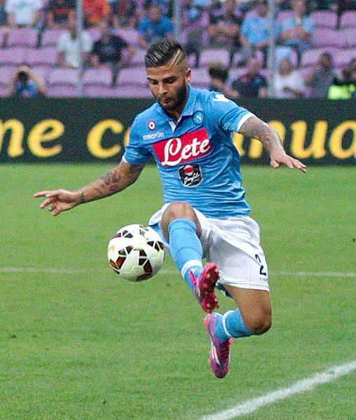 Short soccer player - Lorenzo Insigne