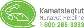 Nunavut Kamatsiaqtut Help Line Logo