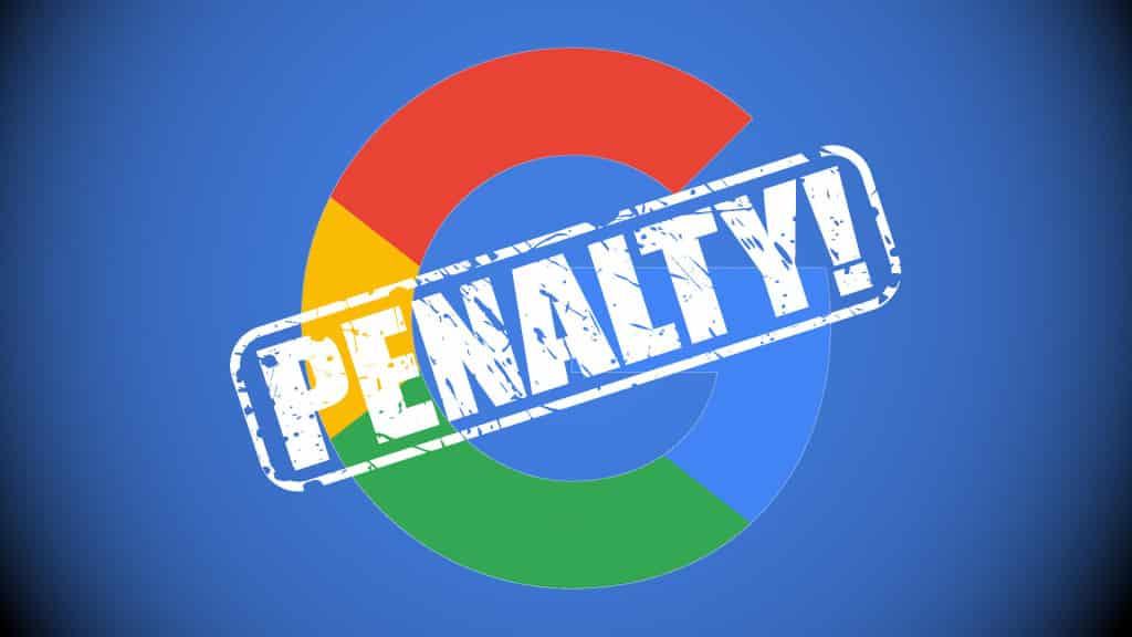 Image result for google penalty