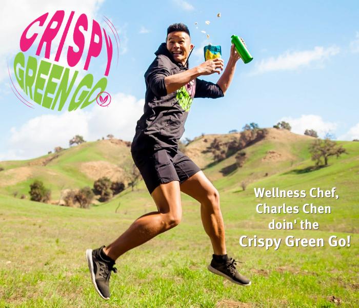 https://crispygreen.com/wp-content/uploads/2021/03/Celebrity-Wellness-Chef-Charles-Chen-doin-the-Crispy-Green-Go.png