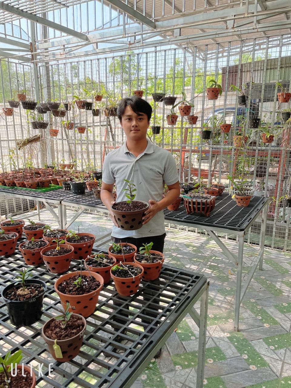 Nghệ nhân Trịnh Tuân – Bén duyên với lan bằng đam mê - Ảnh 6