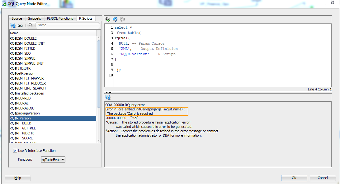 Hooked On Hyperion: Essbase Meets R: Next Steps: ODM And ORE