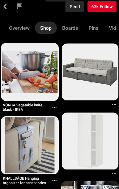 Pinterest Shop Ikea