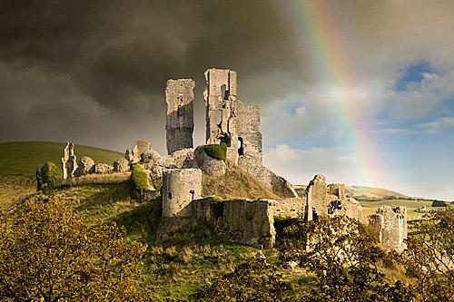 Corfe Castle, Inggris