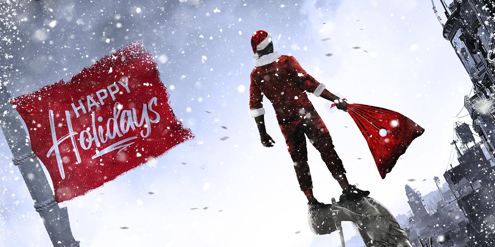 Праздничные открытки от разработчиков и издателей 2021 Рождественские открытки от разработчиков 2021