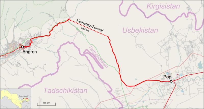 Vallée de Ferghana Ouzbékistan