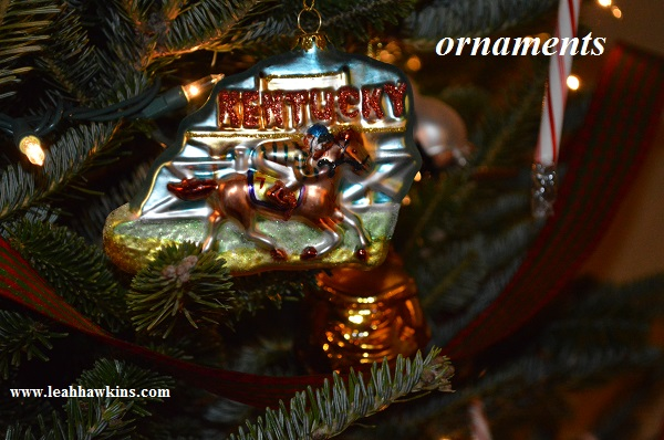 kentucky derby ornament