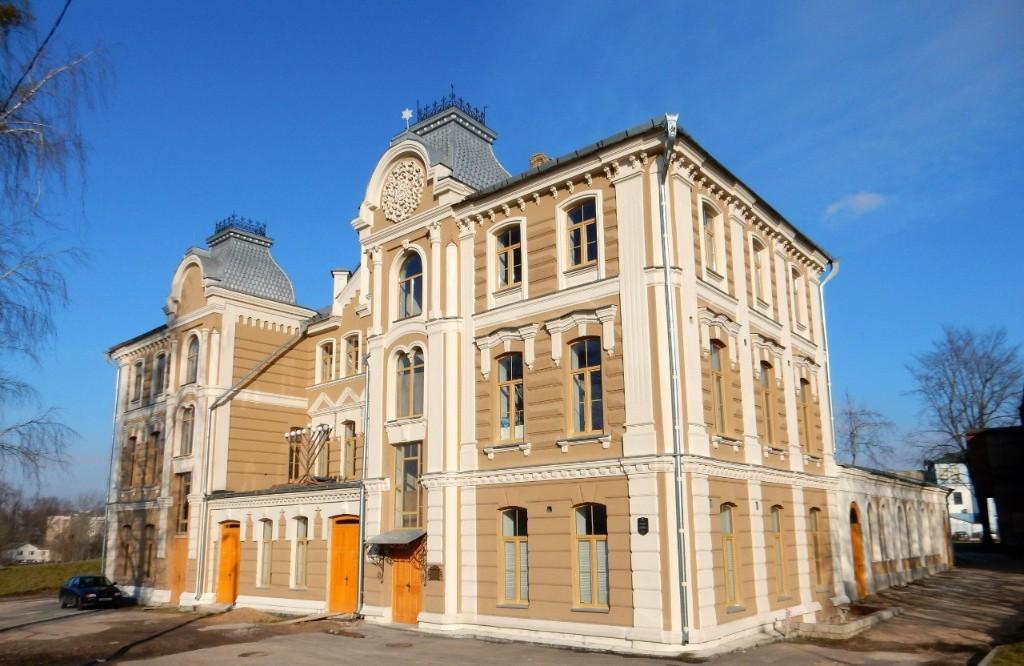 Достопримечательности Беларуси: Хоральная синагога