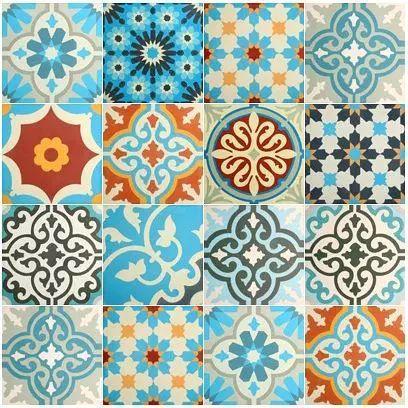 azulejo zellige diversificado