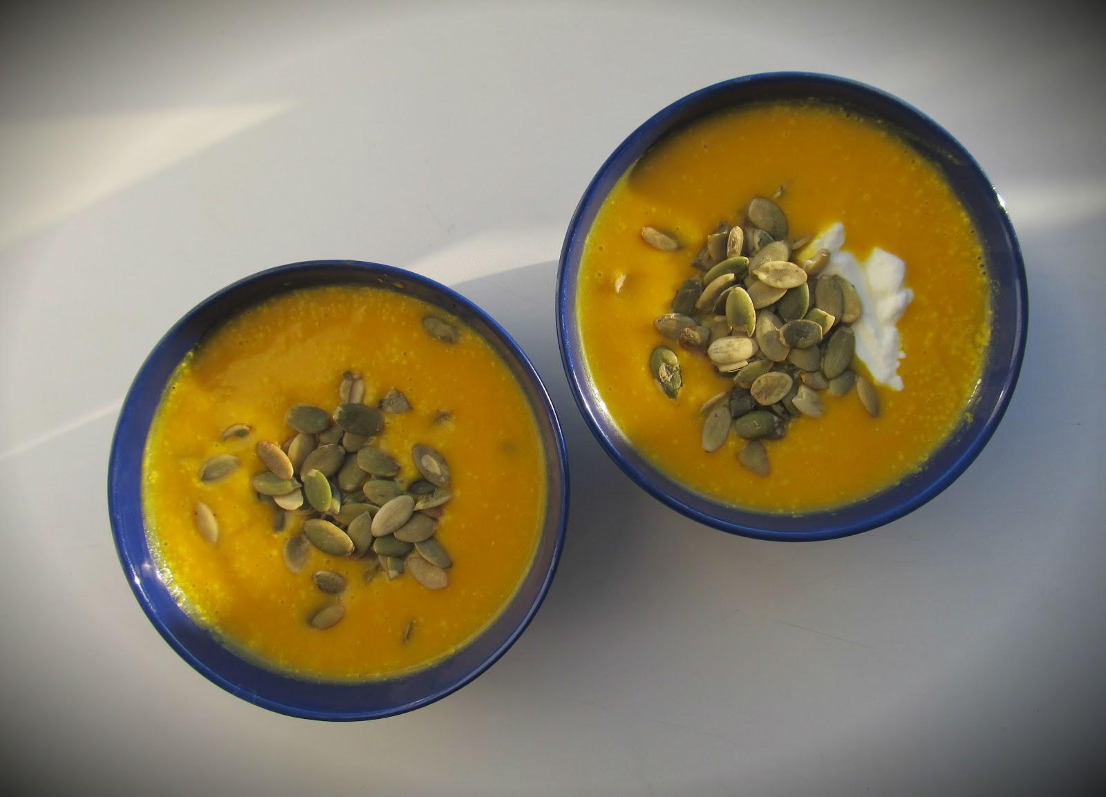 Рецепт яскравого та смачного гарбузового супу-пюре