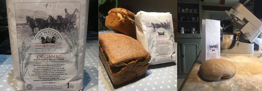 Higher Biddacott Farm's amazing flour powered by horses.