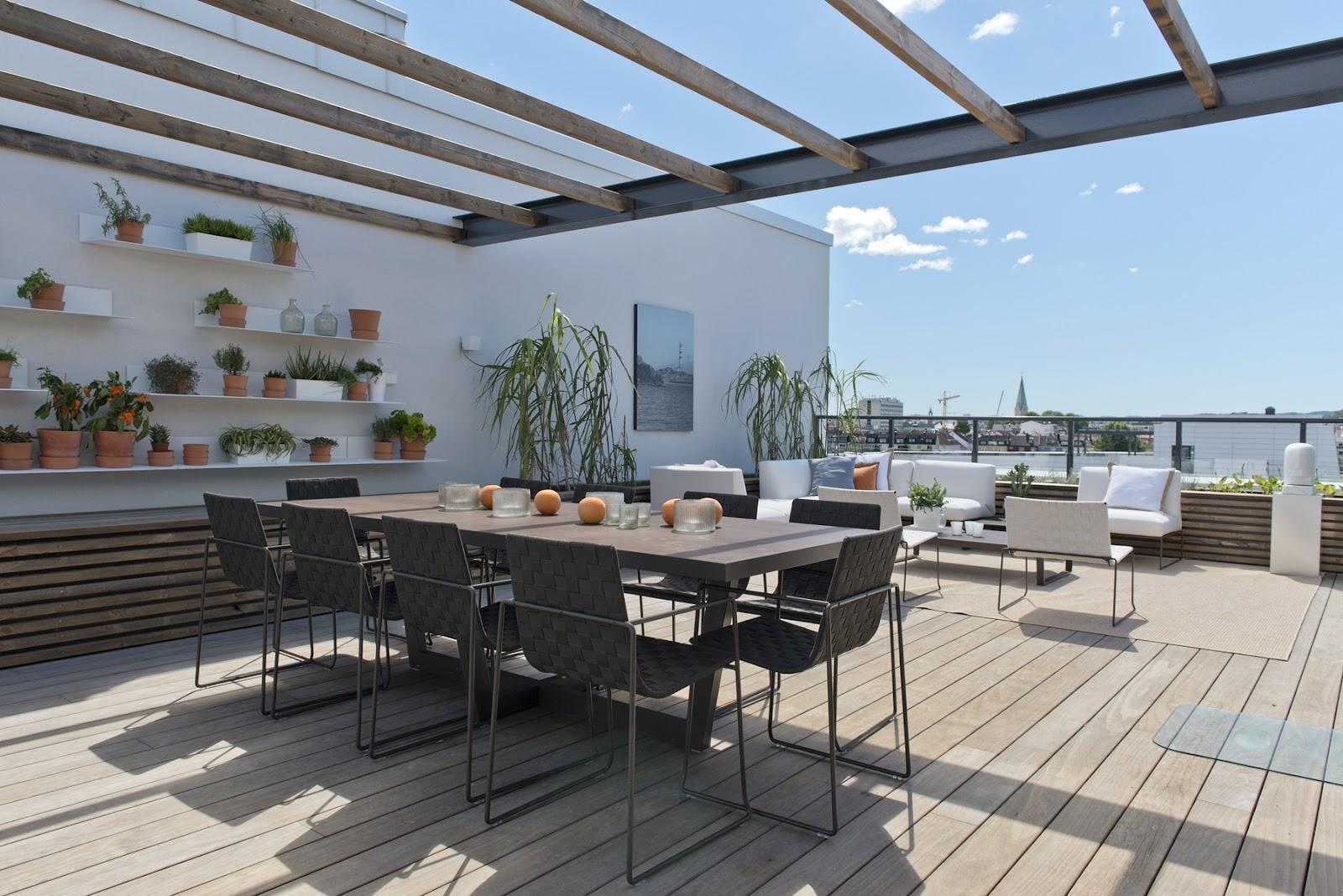 Lag en personlig terrasse med terrassebord fra Kebony