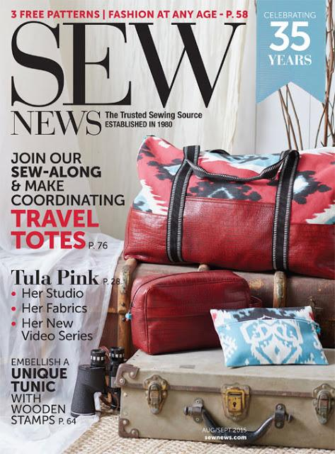 Sew News Portside Travel Set Sew Along Week 2