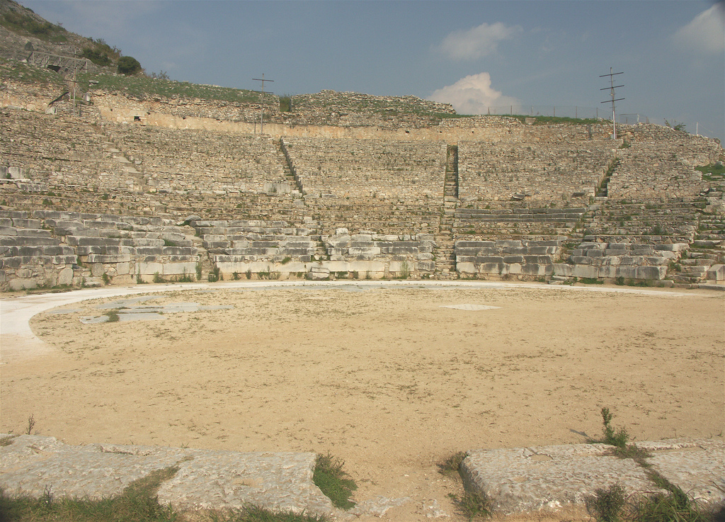 Theatre at Philippi, Greece