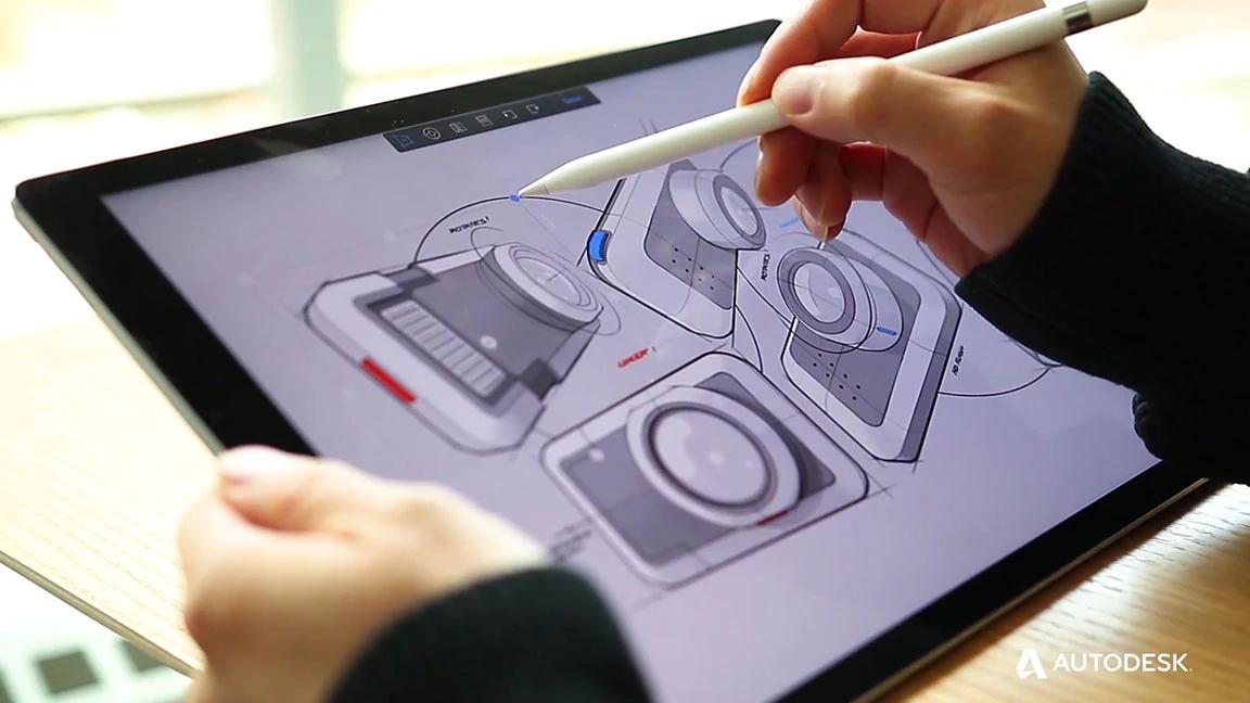 Make the Best Designs with Autodesk SketchBook