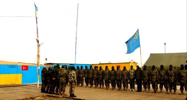 Формування кримськотатарського батальйону продовжується: в соцмережі опубліковані перші його фото