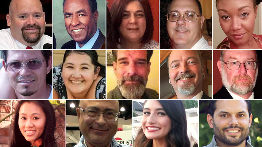 Victims of the San Bernardino shooting rampage