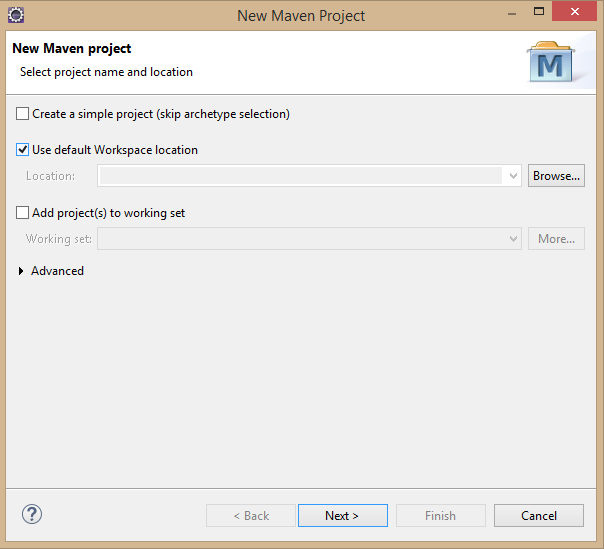 Fig - Creating New Maven Project