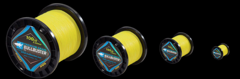 Buy 1500 Yard Spools Of 200Lb Yellow Braided Fishing Line