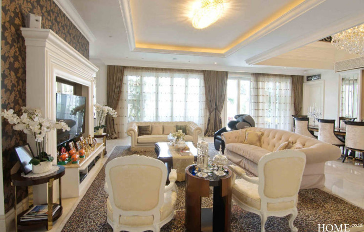 Desain Interior Rumah American Style Ala Nikita Willy - souce: home.co.id
