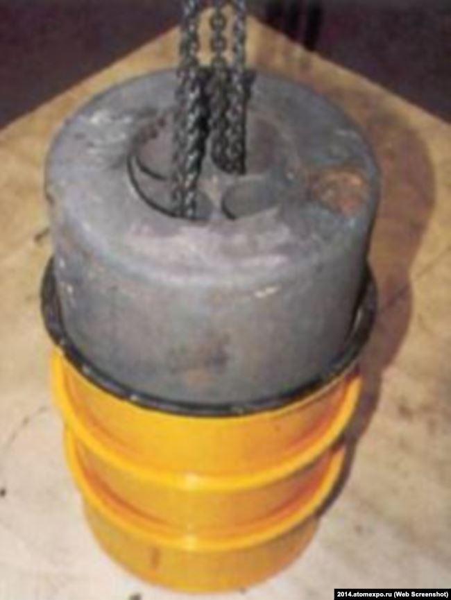 Контейнер для радиоактивных отходов производства немецкой компании Siempelkamp