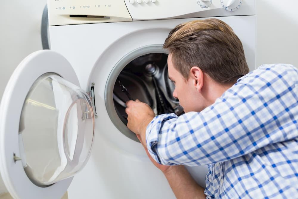 демонтаж люка, ручки стиральной машины