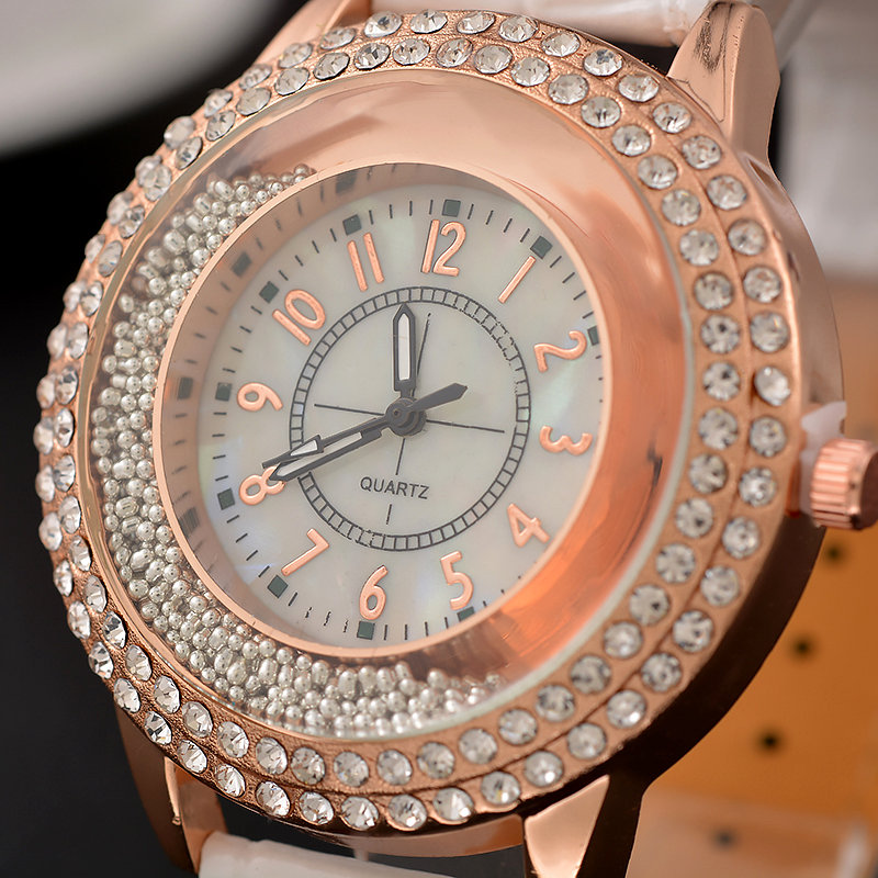 watches golden stainless wrist stone watch steel for buy eastern women