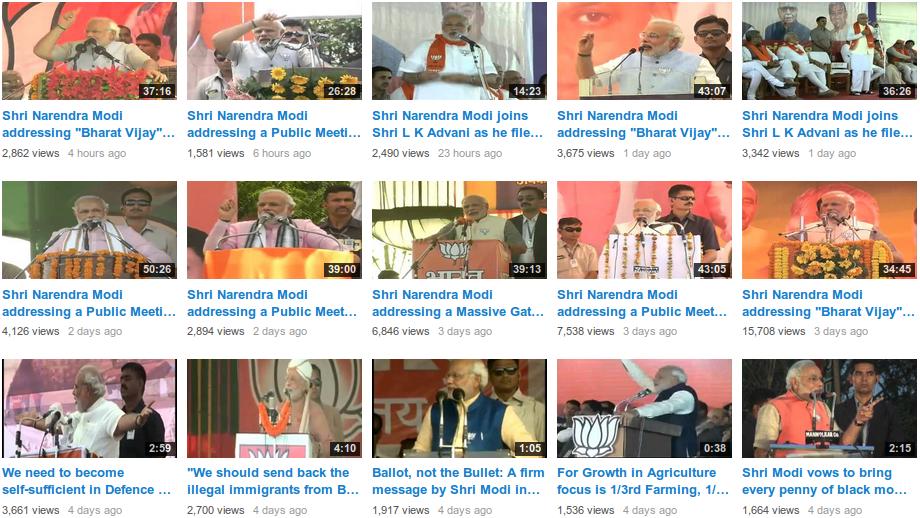 video speeches