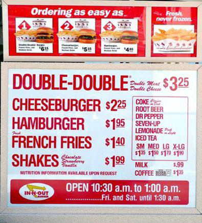 In And Out Prices >> 5 Reasons Why In N Out Is Inarguably Better Than Shake Shack The