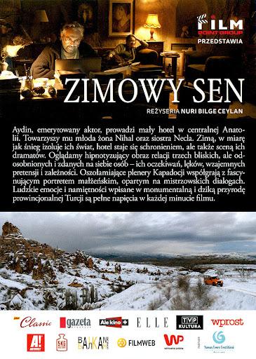 Tył ulotki filmu 'Zimowy Sen'