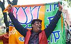 BJP celebrates Lok Sabha 2014 polls victory