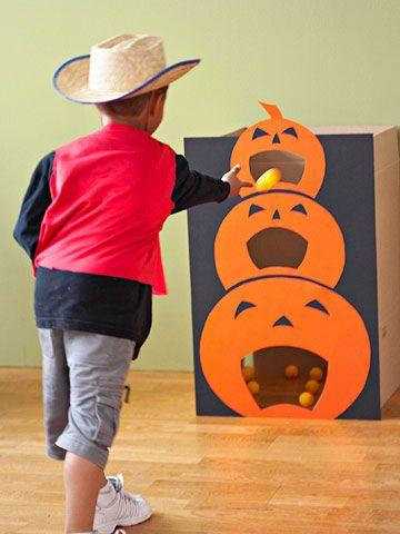 Juguete para Halloween tragabolas de calabaza - Juguetes