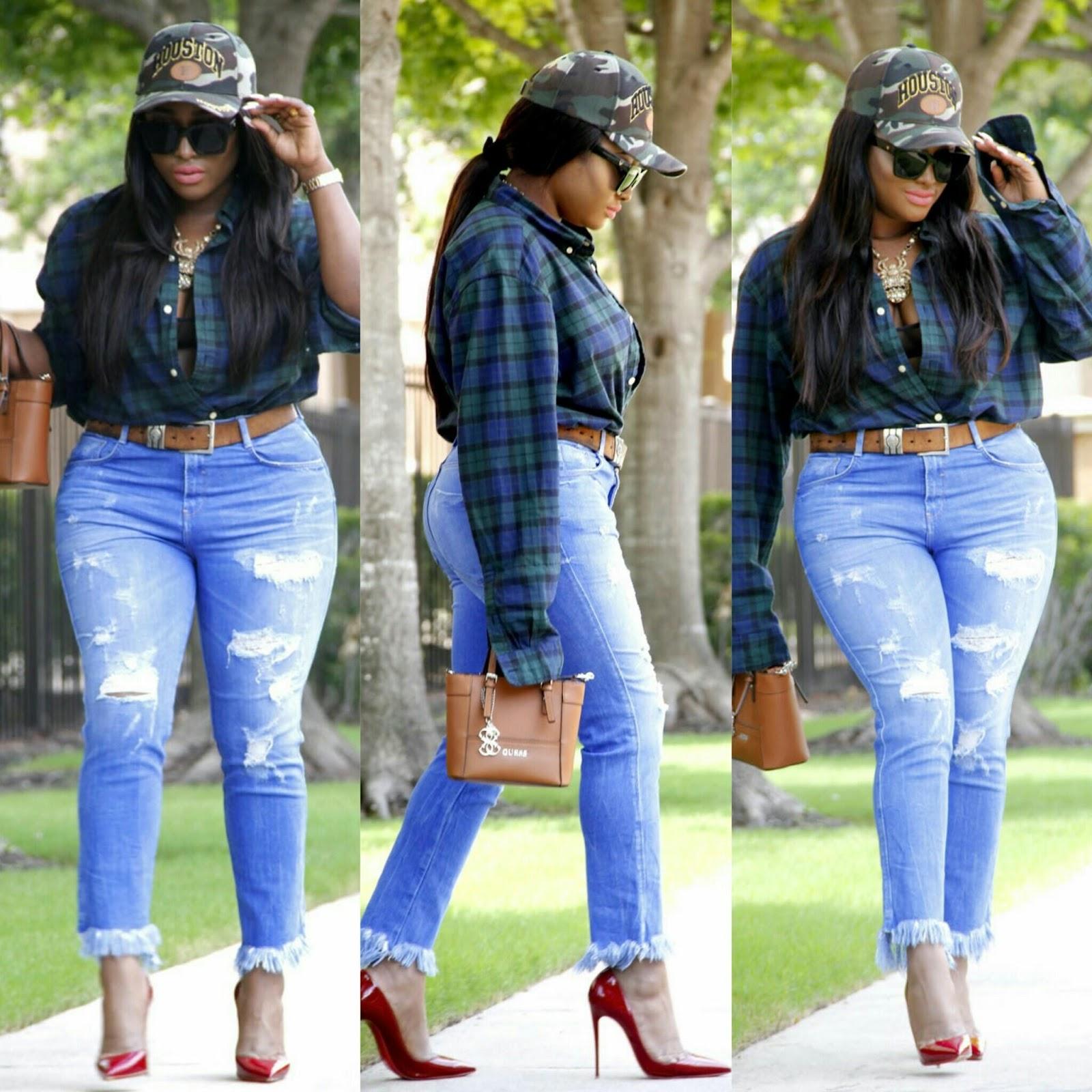 cc80bdfae386 Naija Fashion Daily!  FASHION FOR CURVY GIRLS  MOM JEANS AND ...