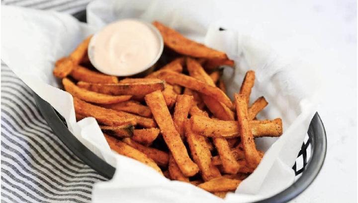 thanksgiving potluck recipe - sweet potato fries