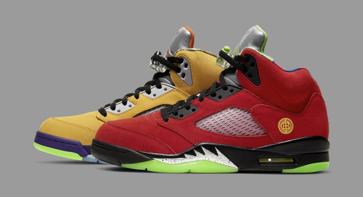 Air Jordan 5 Retro 'What The,' Style Code: DH8565-100