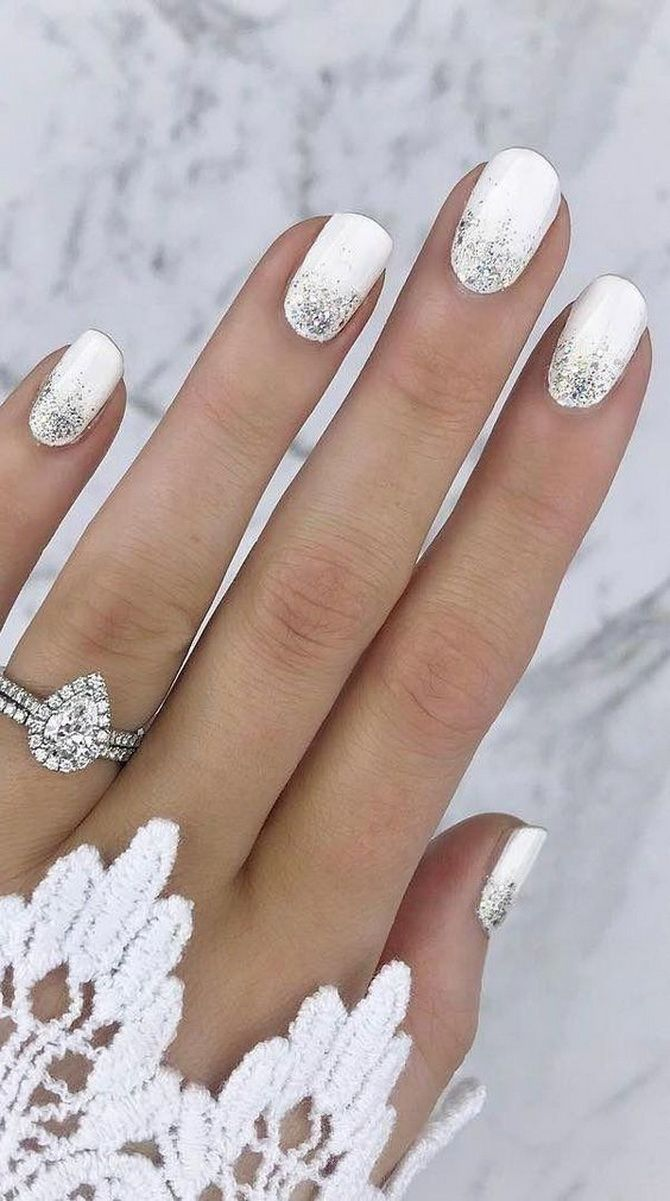 Wedding manicure 2020
