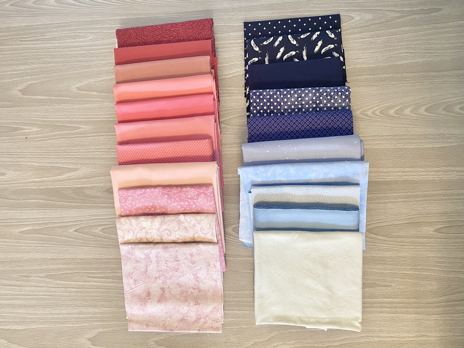 choosing colors for quilt