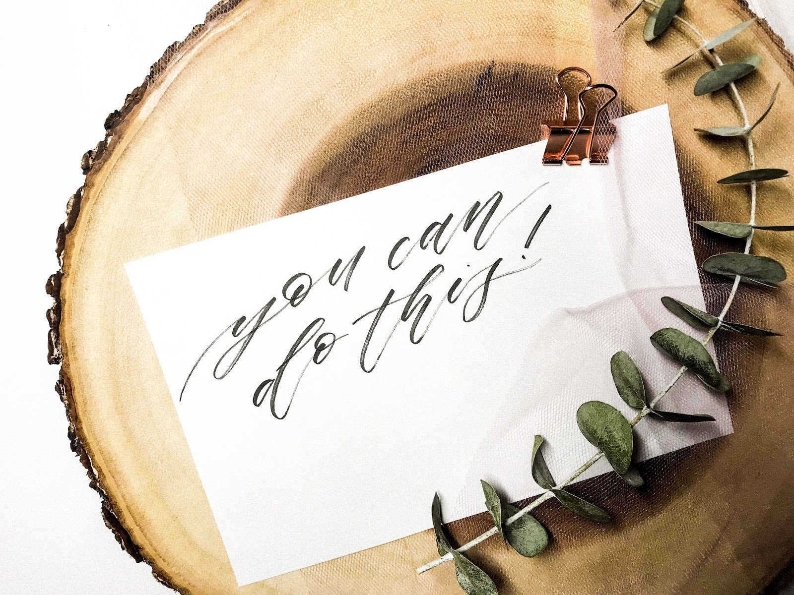 calligraphy brush lettering