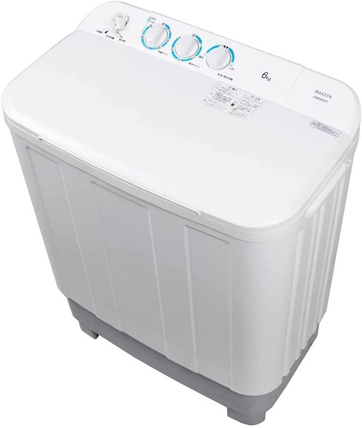 マクスゼン 6kg 二層式洗濯機