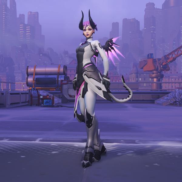 Imp Overwatch Mercy Skin