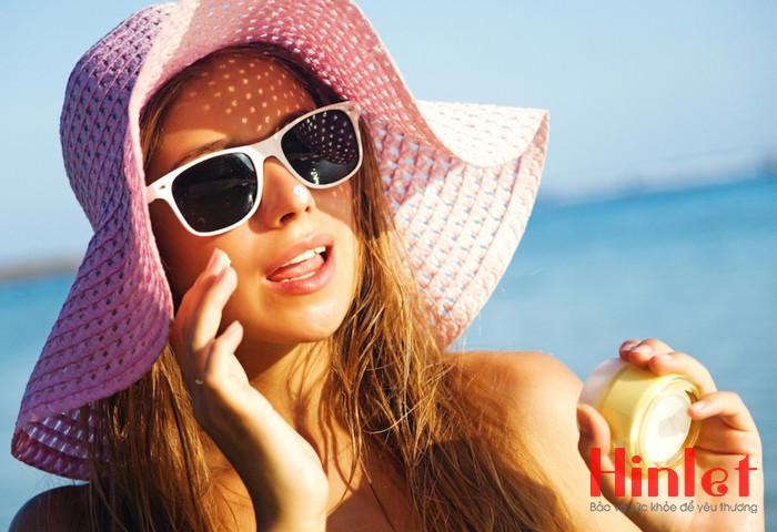 cách chống nắng và tia UV