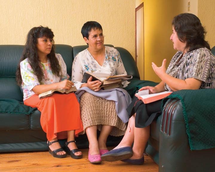 mormon visiting teaching