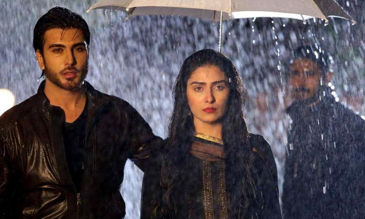 Image result for sad aangan drama scene
