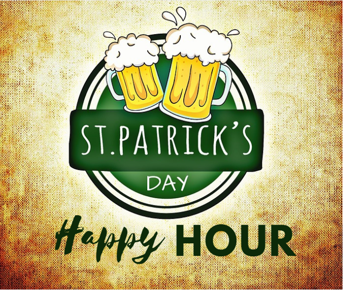 St Pats Happy Hour