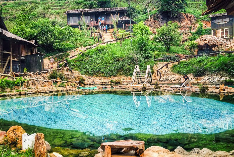 Khu nghỉ dưỡng Trạm Tấu, Yên Bái – Suối khoáng tự nhiên tuyệt đẹp
