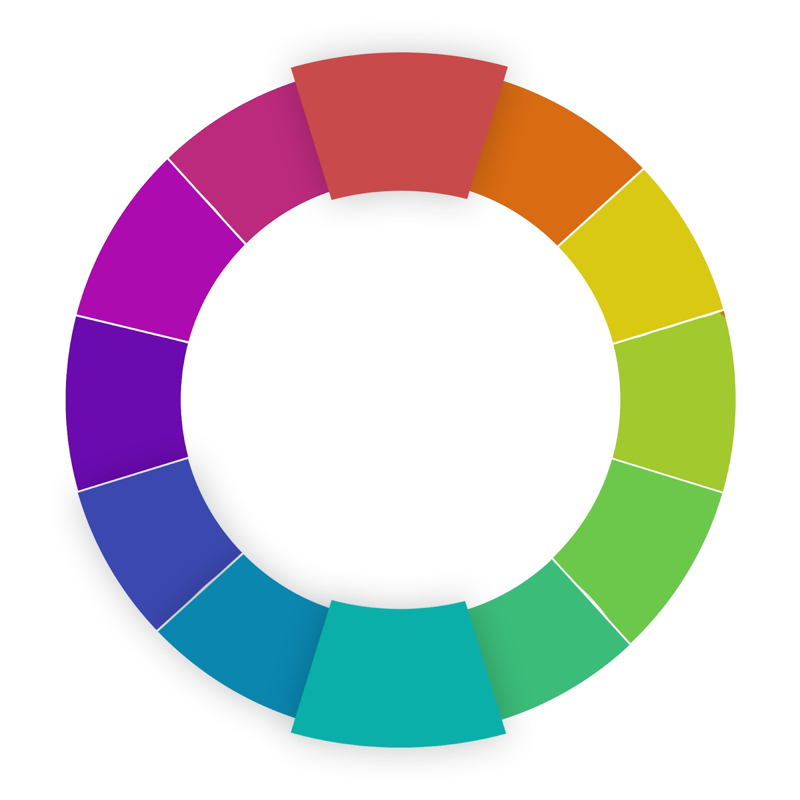 website color schemes complementary wheel