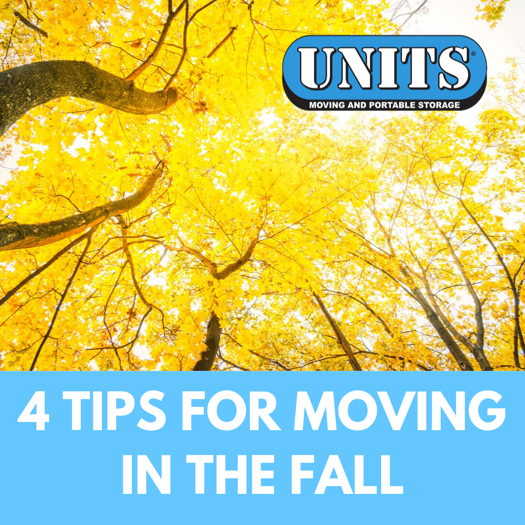 4 Tips for Moving in the Fall